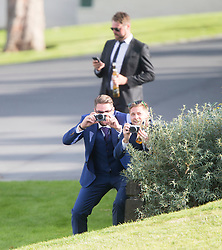 Ronan Keating wedding to Storm Uechtritz at Archerfield today.
