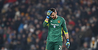 Football - 2016 / 2017 League (EFL )Cup - semi-Final, Second leg: Hull City vs. Manchester United<br /> <br /> David Marshall of Hull City during the match at  Kcom Stadium<br /> <br /> COLORSPORT/LYNNE CAMERON