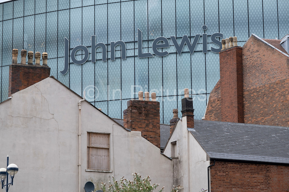 With most shops now open but with retail sales suffering due to the Coronavirus pandemic, John Lewis has closed its doors to its flagship store in the prestigious Grand Central on 28th July 2020 in Birmingham, United Kingdom. John Lewis, one of the UKs most well known and loved department stores has struggled with its finances through the pandemic, resulting in the loss of many jobs and the closing of some of its stores. Coronavirus or Covid-19 is a respiratory illness that has not previously been seen in humans. While much or Europe has been placed into lockdown, the UK government has put in place more stringent rules as part of their long term strategy, and in particular social distancing.