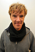 ©INS News Agency Ltd...  19/10/2010.Benedict Cumberbatch..Benedict Cumberbatch helps out with the Prince's Trust 'Make a Change Week' by helping decorate classrooms at Cricket Green School in Mitcham London.