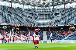 26.07.2017, Red Bull Arena, Salzburg, AUT, UEFA CL, FC Salzburg vs HNK Rijeka, Qualifikation, 3. Runde, Hinspiel, im Bild das Maskottchen Bullidibumm der Salzburger Bullen // The mascot Bullidibumm of Salzburg during the UEFA Championsleague Qualifier 3rd round, 1st leg match between FC Salzburg and HNK Rijeka at the Red Bull Arena in Salzburg, Austria on 2017/07/26. EXPA Pictures © 2017, PhotoCredit: EXPA/ JFK