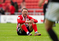 Football - 2020 / 2021 Sky Bet League One - Play-offs - Semi-final, second leg - Sunderland vs Lincoln City - Stadium of Light<br /> <br /> Aiden McGeady of Sunderland looks dejected at full time<br /> <br /> Credit : COLORSPORT/BRUCE WHITE