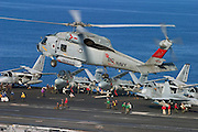 SH-50 on deck of TR
