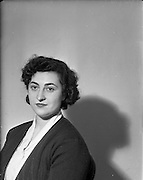 15/01/1953<br /> 01/15/1953<br /> 15 January 1953<br /> Miss Patricia O'Keeffe, Soprano, 3 Fitzjohn Avenue, London, N.W.3 at Our Lady's Choral Society.