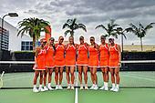 9/17/13 Women's Tennis Team Photo