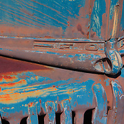 Classic Ford Truck Front Hood Ornament - Motor Transport Museum - Campo, CA