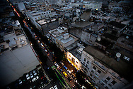 The streets of downtown Tunis.