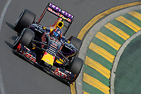 KVYAT daniil (rus) red bull renault rb11 action during 2015 Formula 1 championship at Melbourne, Australia Grand Prix, from March 13th to 15th. Photo DPPI / Eric Vargiolu.