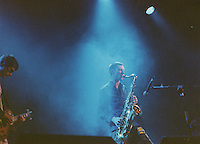 Spiritualized, grainy image from film