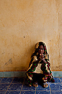Mali, May 2009. CSCOM near Gao. (See Lindsey for town name) Nurse Haoursa Roulane sees patients.