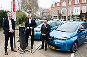 Koning Willem-Alexander bij de lancering We Drive Solar