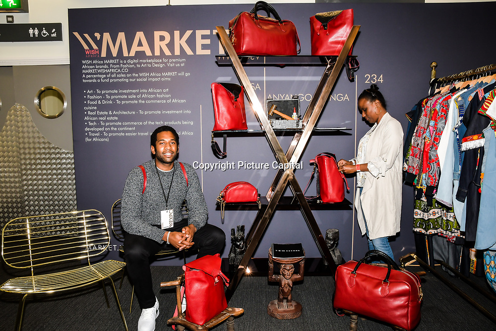 234 Logos Offical exhibition at WISH Africa Expo, a showcase of Pan-Africanism at Olympia Conference Centre on 9 June 2019, London, UK.