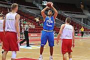 Danzica - Polonia 03 Agosto 2012 - TORNEO INTERNAZIONALE SOPOT CUP - Italia Lettonia<br /> Nella Foto : PIETRO ARADORI<br /> Foto Ciamillo