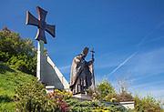 Pomnik Jana Paw?a II na sandomierskiej skarpie