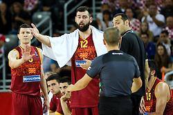 Bojan Trajkovski of Macedonia during basketball match between Croatia vs Macedonia at Day 4 in Group C of FIBA Europe Eurobasket 2015, on September 8, 2015, in Arena Zagreb, Croatia. Photo by Matic Klansek Velej / Sportida