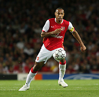 Photo: Chris Ratcliffe.<br /> Arsenal v FC Porto. UEFA Champions League, Group G. 26/09/2006.<br /> Thierry Henry of Arsenal.