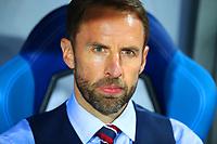 Football - 2018 FIFA World Cup - Group G: England vs. Tunisia<br /> <br /> England manager Gareth Southgate is seen at Volgograd Arena, Volgograd.<br /> <br /> COLORSPORT/IAN MACNICOL