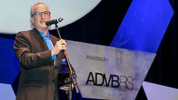 Top de Marketing ADVB 2017 ocorrido no teatro Bourbon Country. Na foto DUDA KROEFF, VICE PRESIDENTE DO GRÊMIO. FOTO: Marcos Nagelstein/Agência Preview
