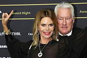 Walter Beller mit Ehefrau Irina auf dem Grünen Teppich beim 15th Zurich Film Festival. Zürich, 05. Oktober 2019.