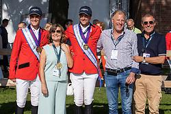Phiolippaerts Olivier, Gerda en Frans Lens, Nicola Philippaerts, Ludo Philippaerts<br /> European Championship Riesenbeck 2021<br /> © Hippo Foto - Dirk Caremans<br /> 03/09/2021