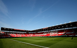 A general view of the bet365 Stadium prior to the beginning of the match