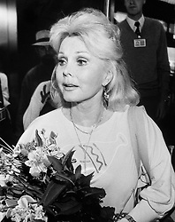 File photo dated 01/01/1987 of Actress Zsa Zsa Gabor who has died at 99, a publicist for the star said.