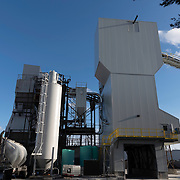 The J.G. MacLellan concrete plant is a prominent structure in Wakefield, MA