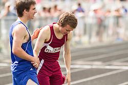 Maine State Track & Field Meet, Class B: boys 800 meters,  Rog, Greely, Rees, York