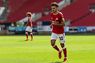 Bristol City's Jamie Paterson (10) in action during the EFL Cup match between Bristol City and Exeter City at Ashton Gate, Bristol, England on 5 September 2020.