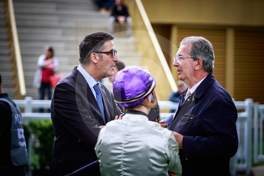 Bruno Barbereau and Jean Claude Rouget ParisLongchamp, France 26/05/2019, photo: Zuzanna Lupa