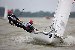 08_004067 © Sander van der Borch. Medemblik - The Netherlands,  May 25th 2008 . Final day of the Delta Lloyd Regatta 2008.