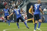 Occasione per Arturo Vidal Juventus,<br /> Torino 14-04-2015, Juventus Stadium, Football Calcio 2014/2015 Champions League, Juventus - Monaco, foto Filippo Alfero/Insidefoto