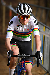 February 9, 2019 - Lille U23, BELGIUM - British world champion Thomas Pidcock pictured in action during the U23 race of the Krawatencross cyclocross in Lille, the eighth and last stage in the DVV Trofee Cyclocross competition, Saturday 09 February 2019. BELGA PHOTO DAVID STOCKMAN (Credit Image: © David Stockman/Belga via ZUMA Press)