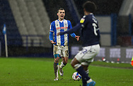 Huddersfield Town defender Harry Toffolo (3)  during the EFL Sky Bet Championship match between Huddersfield Town and Millwall at the John Smiths Stadium, Huddersfield, England on 20 January 2021.