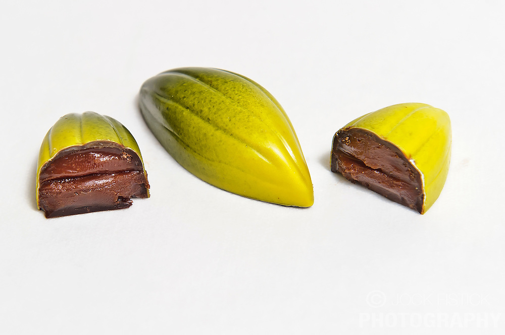 """""""Balanced"""" created by pastry chef and chocolatier Ryan Stevenson, was awarded Best Praline in the 2009 World Chocolate Masters Final, held in Paris."""