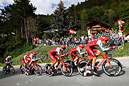 Team Katusha - Alpecin during the 2018 UCI Road World Championships, Men's Team Time Trial cycling race on September 23, 2018 in Innsbruck, Austria - Photo Luca Bettini / BettiniPhoto / ProSportsImages / DPPI