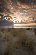 Sunset at Tolavana beach at the Oregon coast.