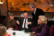 JEMIMA KHAN; SIR ANTHONY BAMFORD; DAME VIVIEN DUFFIELD, Chinese New Year dinner given by Sir David Tang. China Tang. Park Lane. London. 4 February 2013.