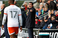 Blackpool's Manager Gary Bowyer during the EFL Sky Bet League 1 match between Fleetwood Town and Blackpool at the Highbury Stadium, Fleetwood, England on 25 November 2017. Photo by Paul Thompson.