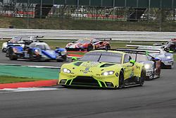 August 19, 2018 - Silverstone, Angleterre - 97 ASTON MARTIN RACING (GBR) ASTON MARTIN VANTAGE AMR GTE PRO ALEXANDER LYNN (GBR) MAXIME MARTIN  (Credit Image: © Panoramic via ZUMA Press)