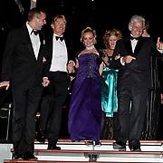 NLD/Zaandam/20081207 - Premiere Op Hoop van Zegen, Paul van Ewijk, hans Cornelisse, Ellen Pieters en Ben Cramer