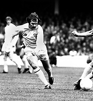Terry Cooper - Leeds United. Coventry City v Leeds United 9/11/74. Credit: Colorsport
