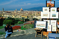 Italie, Toscane, Florence, Place Michelangelo // Michelangiolo Square, Florence,Tuscany, Italy