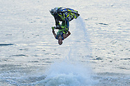 PATTAYA, THAILAND - DECEMBER 09: Mark Gomez of USA and Rickter in action during the Pro Freestyle second run at the Thai Airways International Jet Ski World Cup 2018, Jomtien Beach, Pattaya, Thailand on December 09, 2018. <br /> .<br /> .<br /> .<br /> (Photo by: Naratip Golf Srisupab/SEALs Sports Images)<br /> .<br /> Any image use must include a mandatory credit line adjacent to the content which should read: Naratip Golf Srisupab/SEALs Sports Images