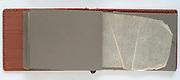 empty page in a 1950s photo album