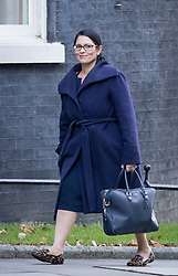 © Licensed to London News Pictures. 29/11/2016. London, UK. International Development Secretary Priti Patel arriving in Downing Street to attend a cabinet meeting this morning. Photo credit : Tom Nicholson/LNP