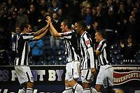 Fotball<br /> England<br /> Foto: Fotosports/Digitalsport<br /> NORWAY ONLY<br /> <br /> West Bromwich Albion v Bristol City Championship 21.11.09 <br /> <br /> Chris Brunt WBA celebrates 2nd goal with team mates