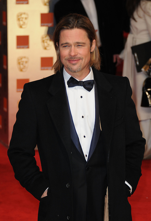 Brad Pitt attends the Orange British Academy Film Awards 2012 at the Royal Opera House, London, UK.. 12/02/2012 Anne-Marie Michel/CatchlightMedia
