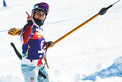 Tomoka Takeuchi (JPN) during parallel giant slalom FIS Snowboard Alpine world championships 2021 on 1st of March 2021 on Rogla, Slovenia, Slovenia. Photo by Grega Valancic / Sportida