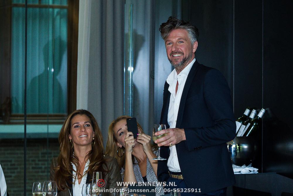 NLD/Amsterdam/20130916 -  Modeshow Jos Raak in het Conservatorium hotel,  Quinty Trustfull, Froukje de Both, Jos Raak